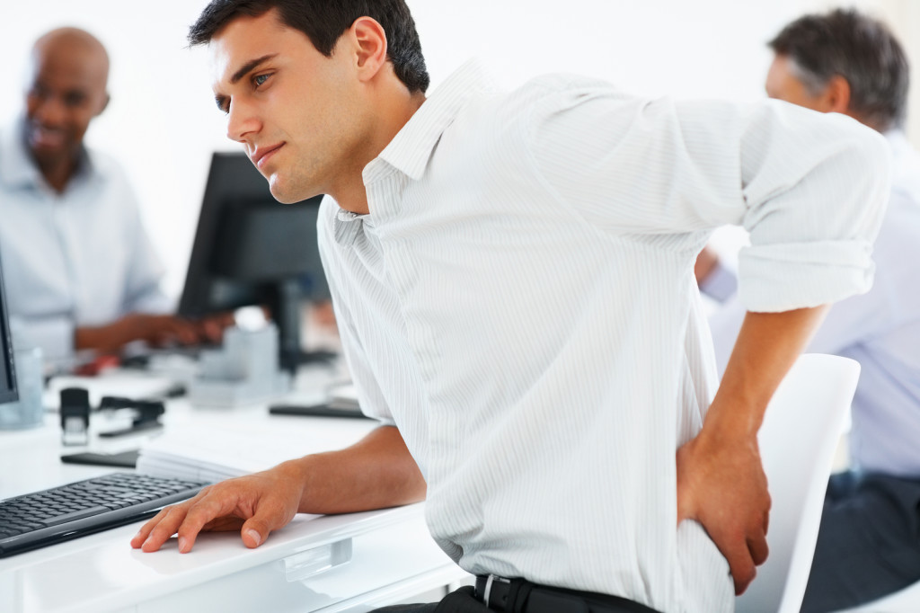 Back Pain In Office