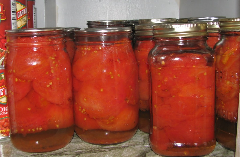 Canning-Tomatoes