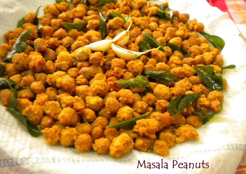 Garnished Masala Peanuts