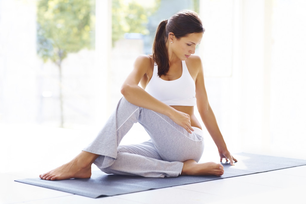 Twisted Seated Pose