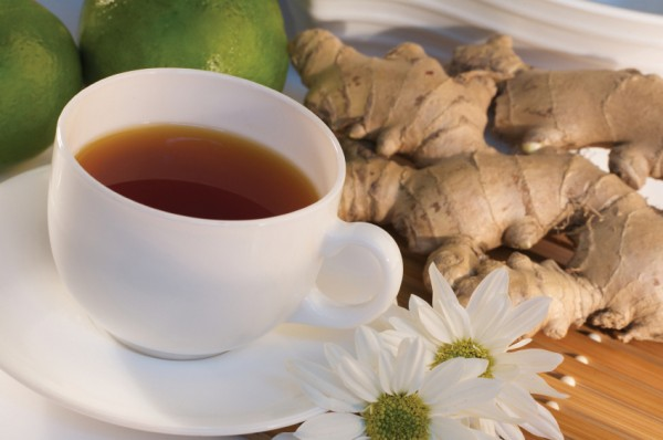 How to make ginger tea for sore throat