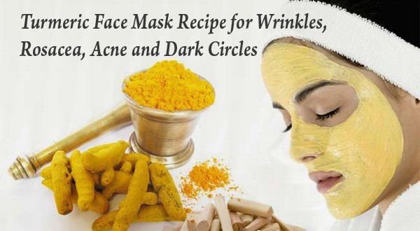 Face Mask Recipe For Dark Circles Based On Turmeric!