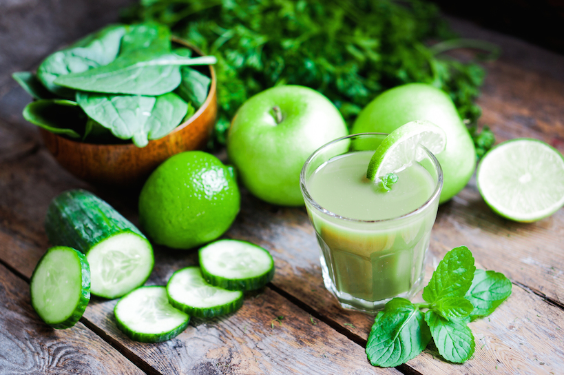 Green Juice That Relieve A Headache Fast