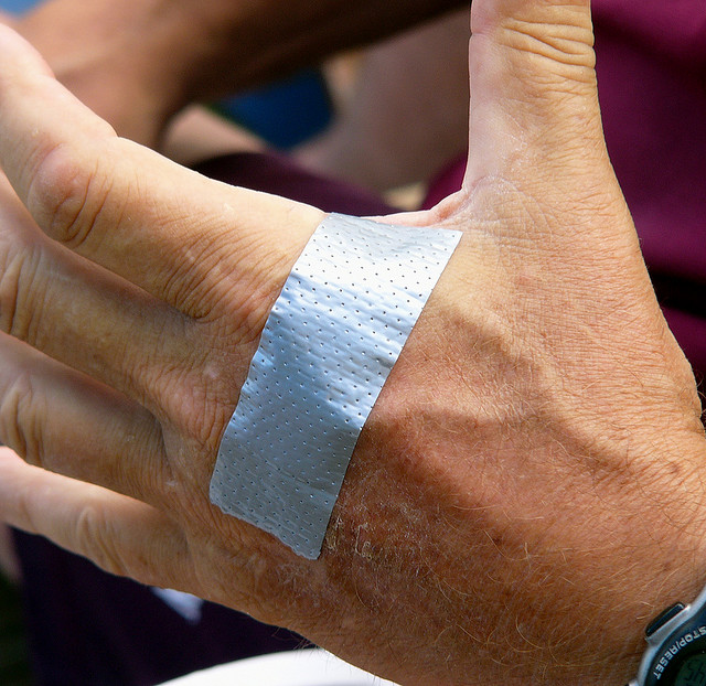 DUCT TAPE FOR GETTING RID OF WARTS