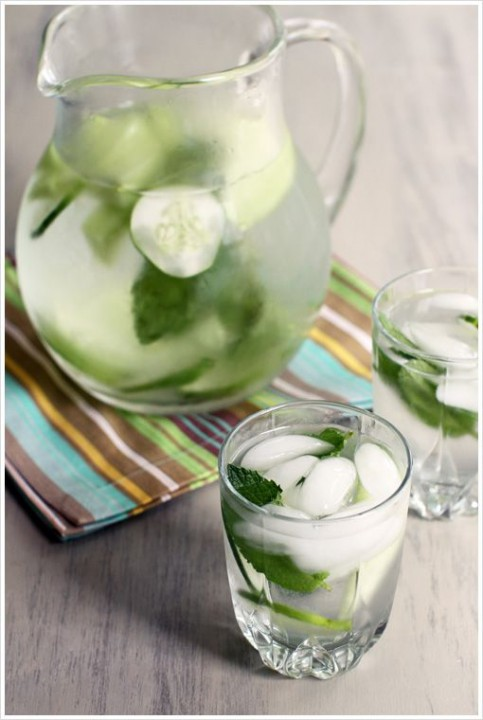 Melon, Lemon and Cucumber