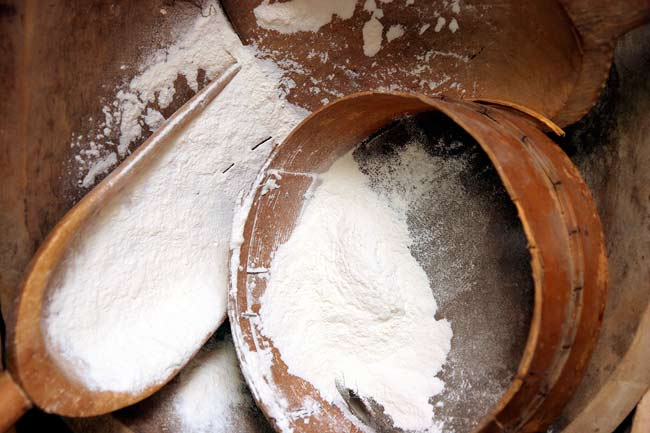 Highly Processed White Flours