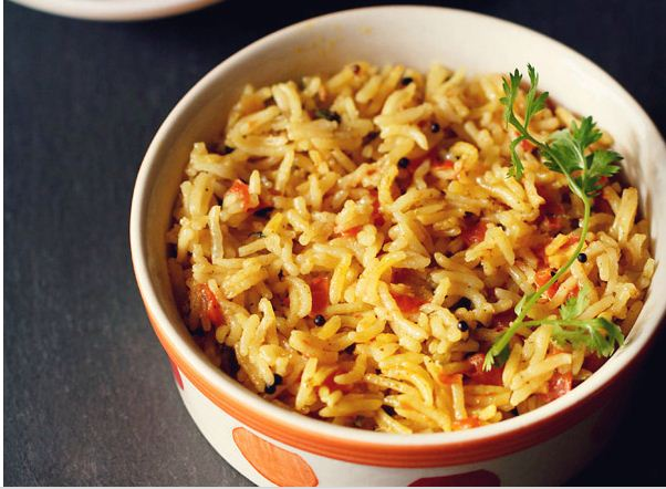 Let's Make Spicy South Indian Tomato Rice!