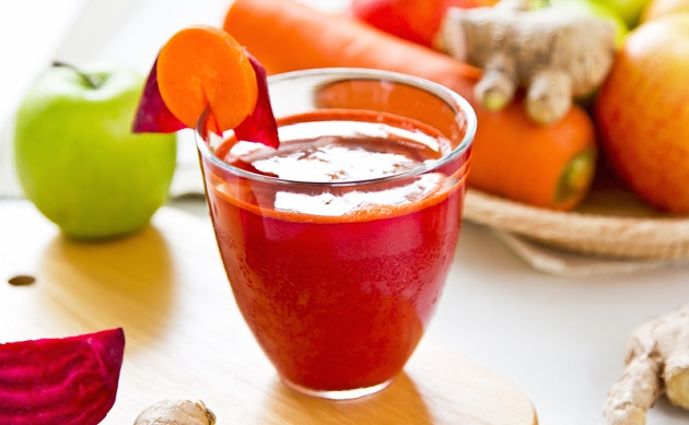 Lose Body Fat with Carrot Beet Juice