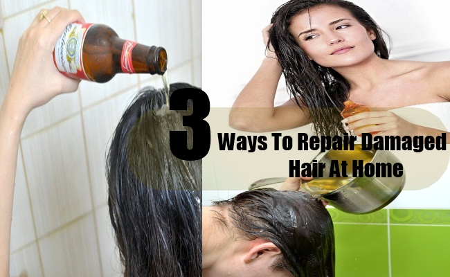 3 Home Remedies for Dry and Damaged Hair