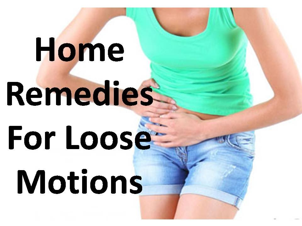 Home Remedies to Fight Loose Motion