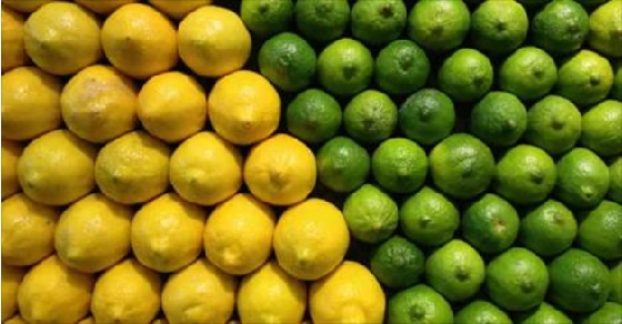 Lemon vs lime health benefits