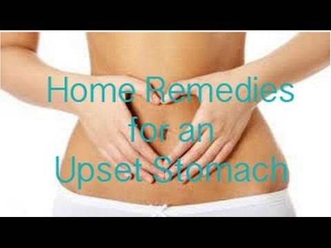 Watch Video - 6 Home Remedies for Upset Stomach