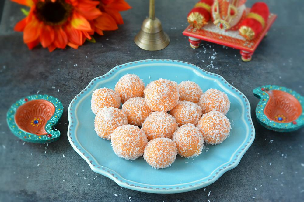 Ganesh Chaturthi Special - Coconut Ladoo