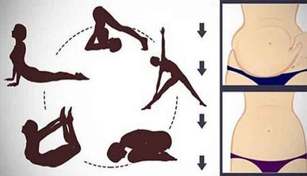 These 5 Yoga Poses to Reduce Stubborn Belly Fat