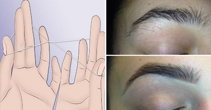 How To Thread Your Eyebrows In Just 5 Minutes