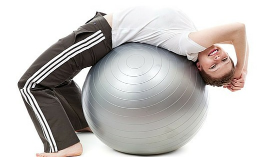 Lower Body Workouts with Exercise Ball