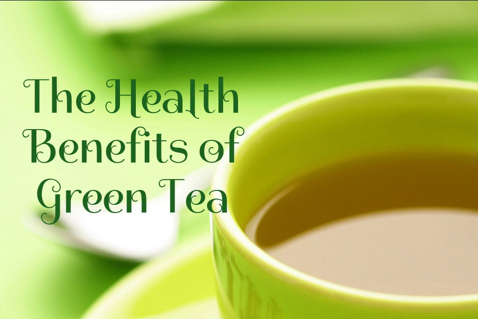 Great Health Benefits of Drinking Green Tea!