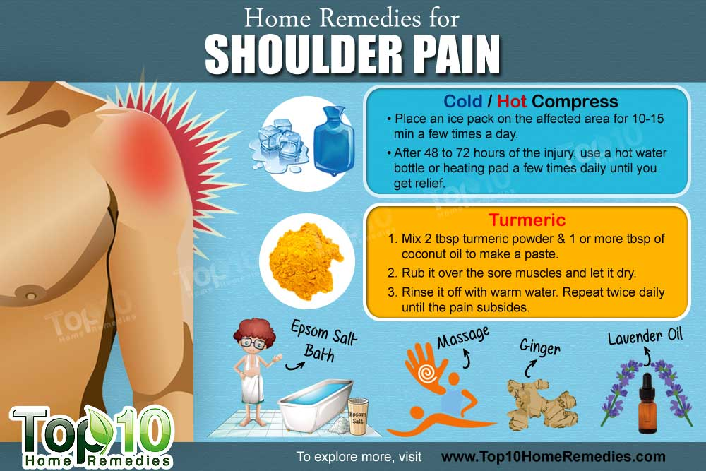 The Best Home Remedies For Shoulder Pain