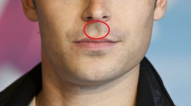 Not Every Body Have the Cavity Between the Nose and Upper Lip, Here's What it Means if you Have it!