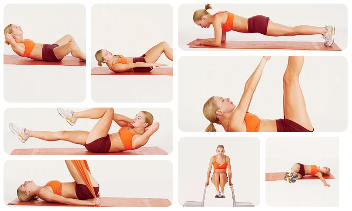 9 Exercises To Burn Abdominal Fat In 9 Days