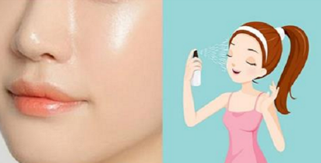 Image result for Spray This All Over Your Face At Night And In Just Few Days Your Skin Will Become Milky White And Spotless!