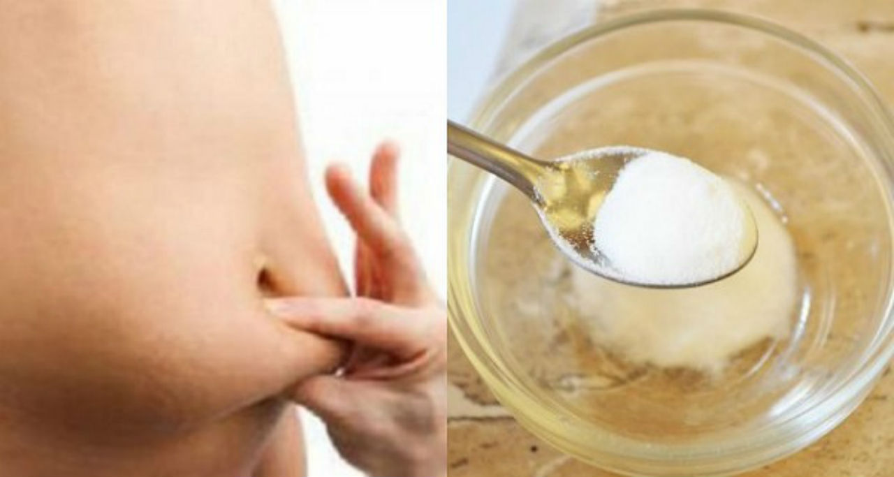 Image result for Here Is How To Get Rid Of Back, Arm, Thigh And Belly Fat With The Help of Baking Soda